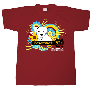 Boxerstock 2012 t-shirt design
