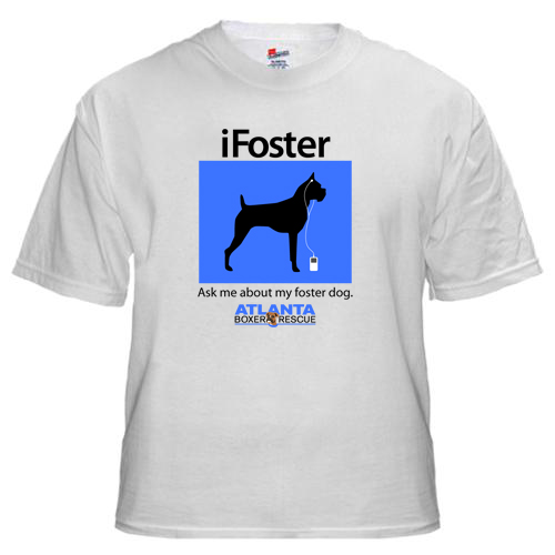 iFoster shirt for Atlanta Boxer Rescue